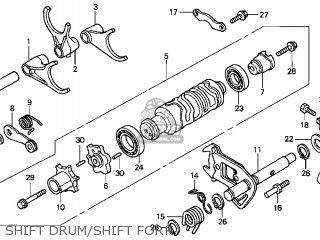 Honda GL1800 GOLDWING 2006 (6) USA parts lists and schematics