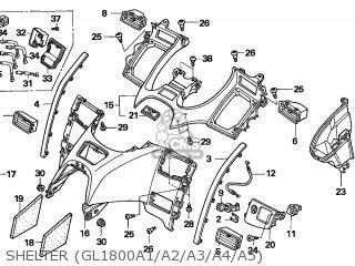 Honda GL1800A GOLDWING 2002 (2) EUROPEAN DIRECT SALES