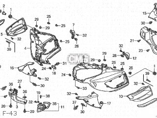 Honda GL1800A GOLDWING 2002 (2) JAPAN SC47-100 parts lists