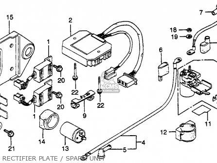 Wiring Diagram 1982 Honda Gl500, Wiring, Get Free Image