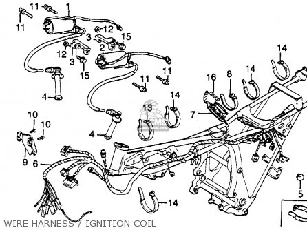 Honda Gl500 Silverwing 1981 (b) Usa parts list partsmanual