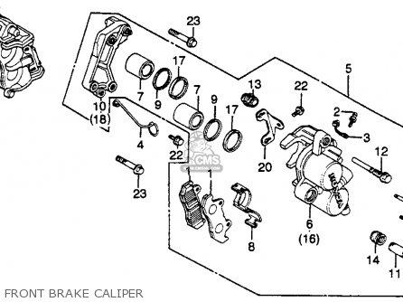 Honda Gl500i Silver Wing Interstate 1982 Usa parts list