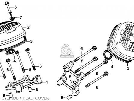 Honda Gl500i Silverwing Interstate 1981 (b) Usa parts list