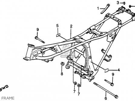 Honda Gl650 Silver Wing 1983 Usa parts list partsmanual