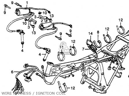 Honda GL650 SILVERWING 1983 (D) USA parts lists and schematics