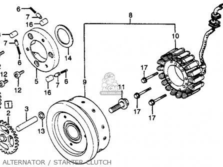 Honda Gl650i Silverwing Interstate 1983 (d) Usa parts list