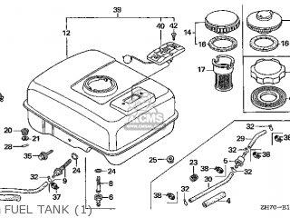 Honda GX120\TX2\14ZH70E5 parts lists and schematics