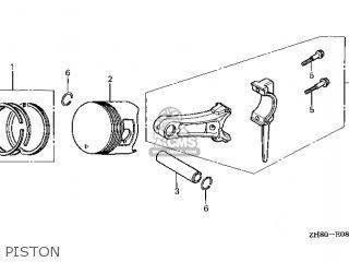 Honda GX160K1\VXW2\14ZH80E9 parts lists and schematics