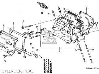 Honda GX160\LX\14ZK8403 parts lists and schematics