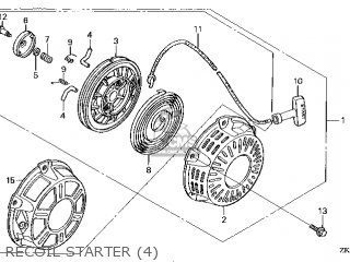 Honda GX160\QWA4\14ZK8403 parts lists and schematics