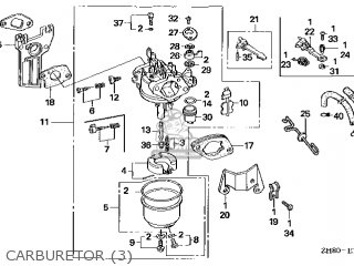 Honda GX160\SXS4\14ZH80E9 parts lists and schematics