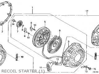 Honda GX200\HX\14ZK0402 parts lists and schematics