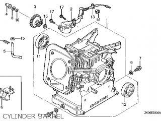 Honda GX200\PX\14ZK0402 parts lists and schematics