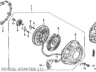 Honda GX200\QXF\14ZL00E4 parts lists and schematics