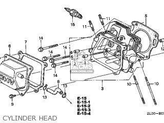 Honda GX200\RH26\14ZL00E4 parts lists and schematics