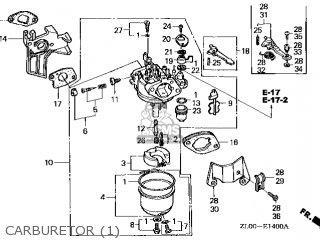 Honda GX200\RHQ4\14ZL00E4 parts lists and schematics