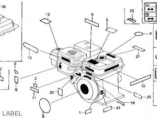 Honda GX200\RX\14ZL00E4 parts lists and schematics