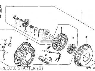 Honda GX200T\LAC1\14Z0V0E3 parts lists and schematics