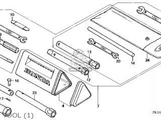 Honda GX240\QA2\18ZE20E8 parts lists and schematics