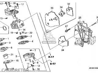 Honda GX25\SEGT\14Z0H0E4 parts lists and schematics