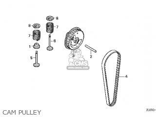 Honda GX25T\HUT\14Z3E601 parts lists and schematics