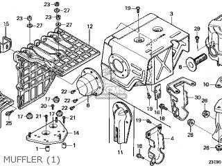 Honda GX270\QAQ4\14ZH90E9 parts lists and schematics