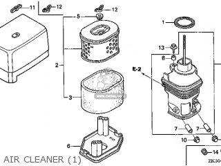 Honda GX340K1\QNE\18ZE30E6 parts lists and schematics