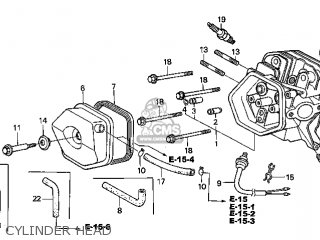 Honda GX340K1\QNE\18ZE30E6 parts lists and schematics
