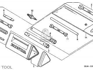 Honda GX340\QA\10ZE301 parts lists and schematics