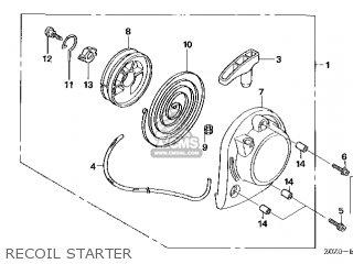 Honda Gx35\set\14z0z403 parts list partsmanual partsfiche