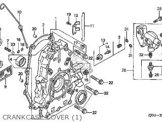 Honda GX610\QDE6\14ZJ00E6 parts lists and schematics