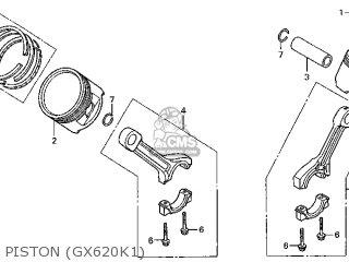Honda GX620\VAB3_A\14ZJ11E2 parts lists and schematics