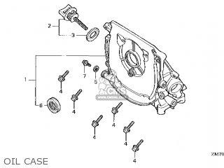 Honda GXH50\QC_A\14ZM70E6 parts lists and schematics
