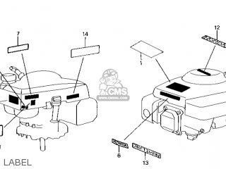 Honda GXV140\N1EA\14ZG90E4 parts lists and schematics