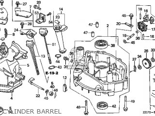 Honda GXV160\N6\14ZE70E8 parts lists and schematics