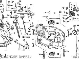 Honda GXV160\N6\14ZE70E8 parts lists and schematics