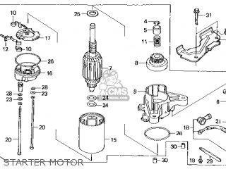Honda GXV390\DCA\10ZF502 parts lists and schematics