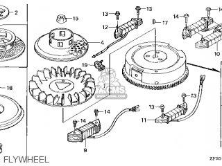 Honda GXV390\DN4\10ZF502 parts lists and schematics