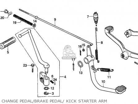 Honda H100s 1983 Australia parts list partsmanual partsfiche
