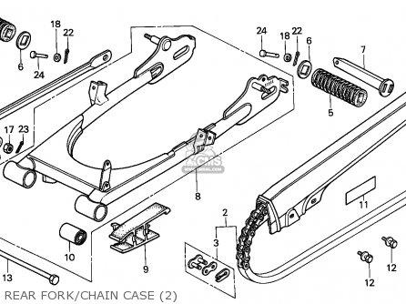 Honda H100s 1983 (d) England parts list partsmanual partsfiche