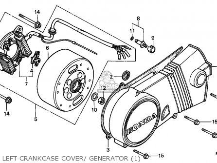 Honda H100s 1983 England parts list partsmanual partsfiche