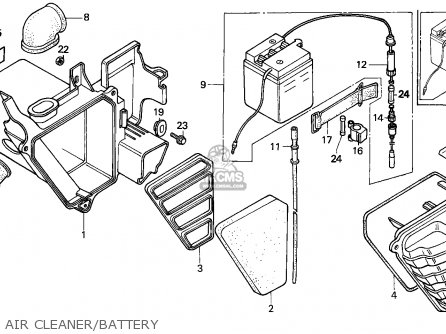 Honda H100s 1983 South Africa / Lc parts list partsmanual