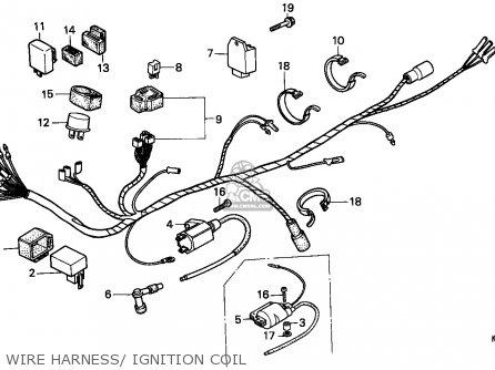 Honda H100S 1986 (G) ENGLAND parts lists and schematics