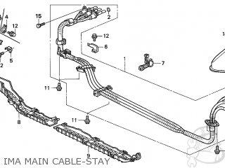 Honda INSIGHT 2005 (5) 3DR CVT (KA) parts lists and schematics