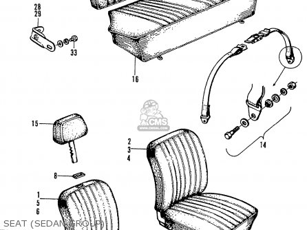 Honda LN360 COUPE STATIONWAGON parts lists and schematics