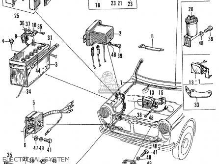 Honda Ln360 parts list partsmanual partsfiche