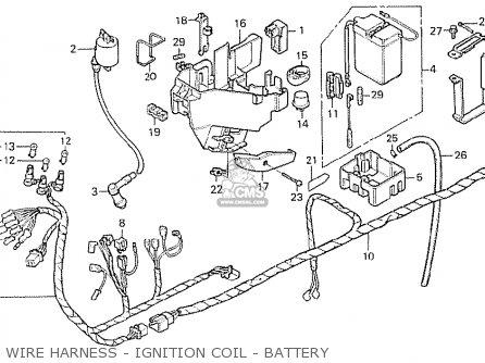 Honda Mb50 Mb5 1979 (z) Japanese Home Market parts list