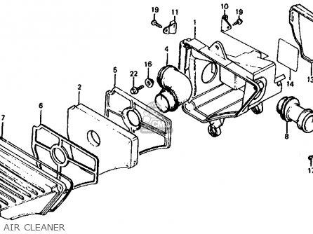 Honda Xr100 Parts Diagram Air Cleaner. Honda. Auto Wiring