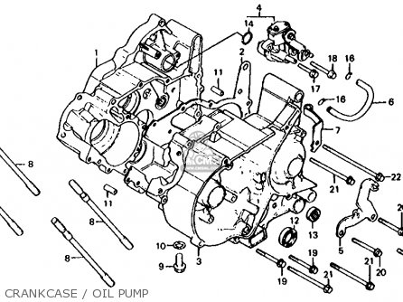 Honda Mb50 Mb5 1982 (c) Usa parts list partsmanual partsfiche