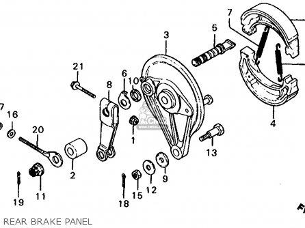 Honda MB50 MB5 1982 (C) USA parts lists and schematics